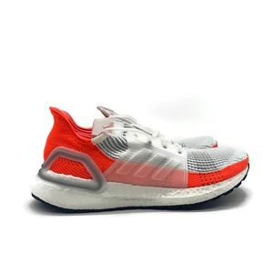 Adidas Ultraboost 19 Mens Red White Running Shoe